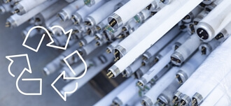 Fluorescent tube waste has an important place in the circular economy