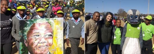 This year marked the 10th anniversary of Mandela Day