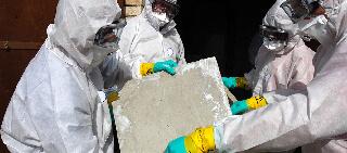 Let EnviroServ's hazardous waste technicians handle your asbestos removal