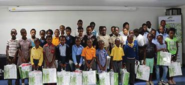 Keeping kids in school through uniforms
