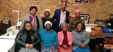 EnviroServ helps Intuthuko sewing ladies take South Africa to the world